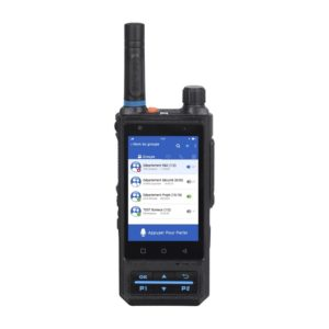 Radio bidirectionnelle PoC IC200 ITP COM, 4G LTE, Android, NFC, WiFi, Bluetooth, écran tactile, SOS, GPS, caméras